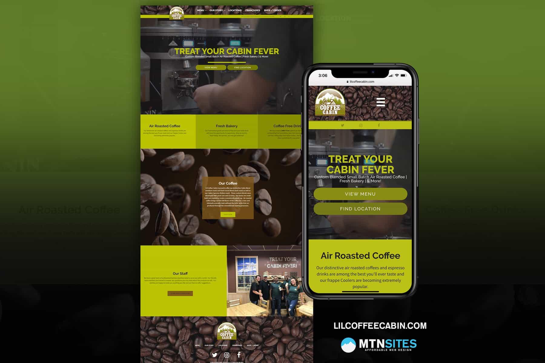 lilcoffeecabin mtn site